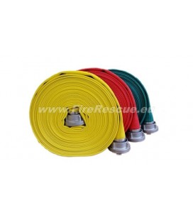 EUROFLEX TXS FIREFIGHTING PRESSURE HOSE 25-D WITHOUT COUPLINGS