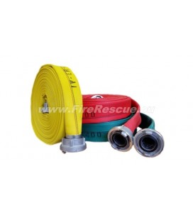 EUROFLEX TXS IRK FIREFIGHTING PRESSURE HOSE 25-D WITH STORZ COUPLINGS