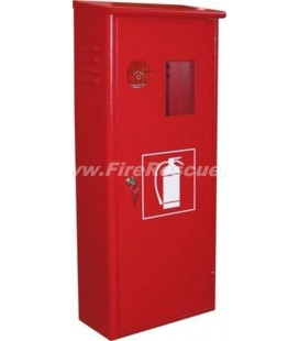 FIRE EXTINGUISHER SMART CABINET CO2 5 KG WITH KEY