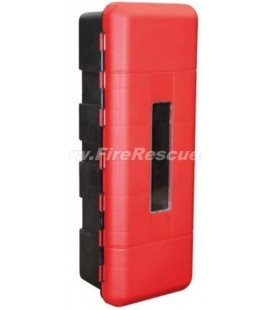 FIRE EXTINGUISHER PVC CABINET 9-12 KG/L + CO2 5 KG - UK