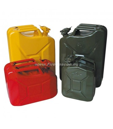 METAL PETROL CANISTER 5 L