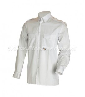 GZS FIREFIGHTER WHITE SHIRT LONG SLEEVE