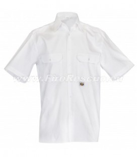 GZS FIREFIGHTER WHITE SHIRT SHORT SLEEVE